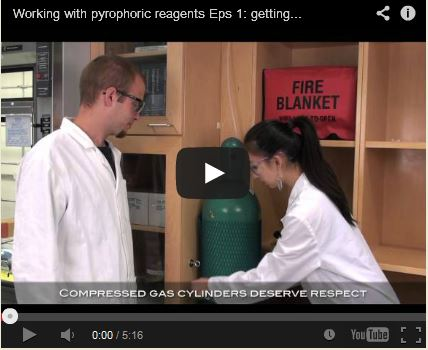 pyrophoric material safety video screenshot