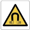 magnetic field warning symbol