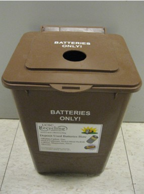 Recycling Your Batteries
