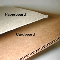 cardboard and paperboard